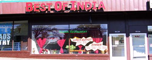 Best Of India Restaurant Indian Restaurant